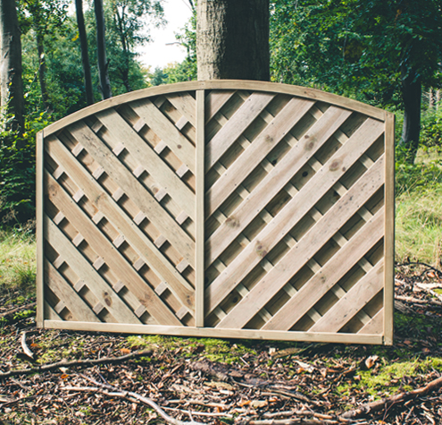V-Arch Fence Panels